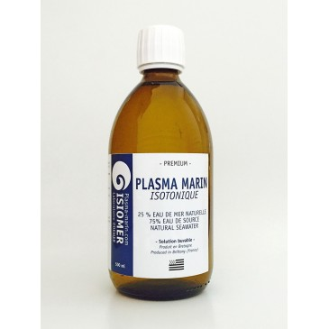 Plasma marin isotonique buvable Isiomer 500 ml ( non injectable)