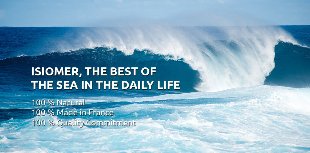 ISIOMER, THE BEST OF THE SEA IN THE DAILY LIFE